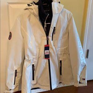 Tommy Hilfiger women's 3 in 1 coated jacket